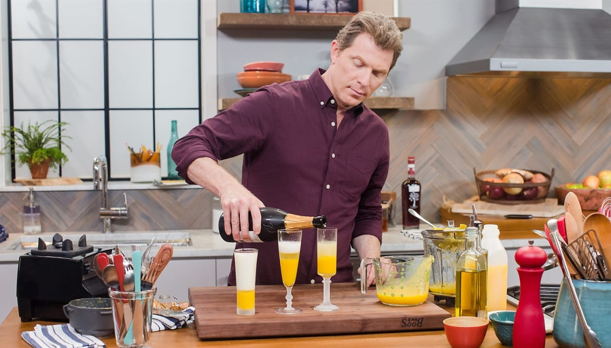 Bobby Flay gives tried-and-true brunch staples a modern makeover.