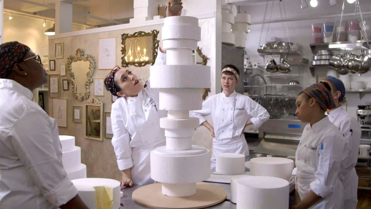 Outlandish wedding cakes include a super fragile 7-foot-tall creation.