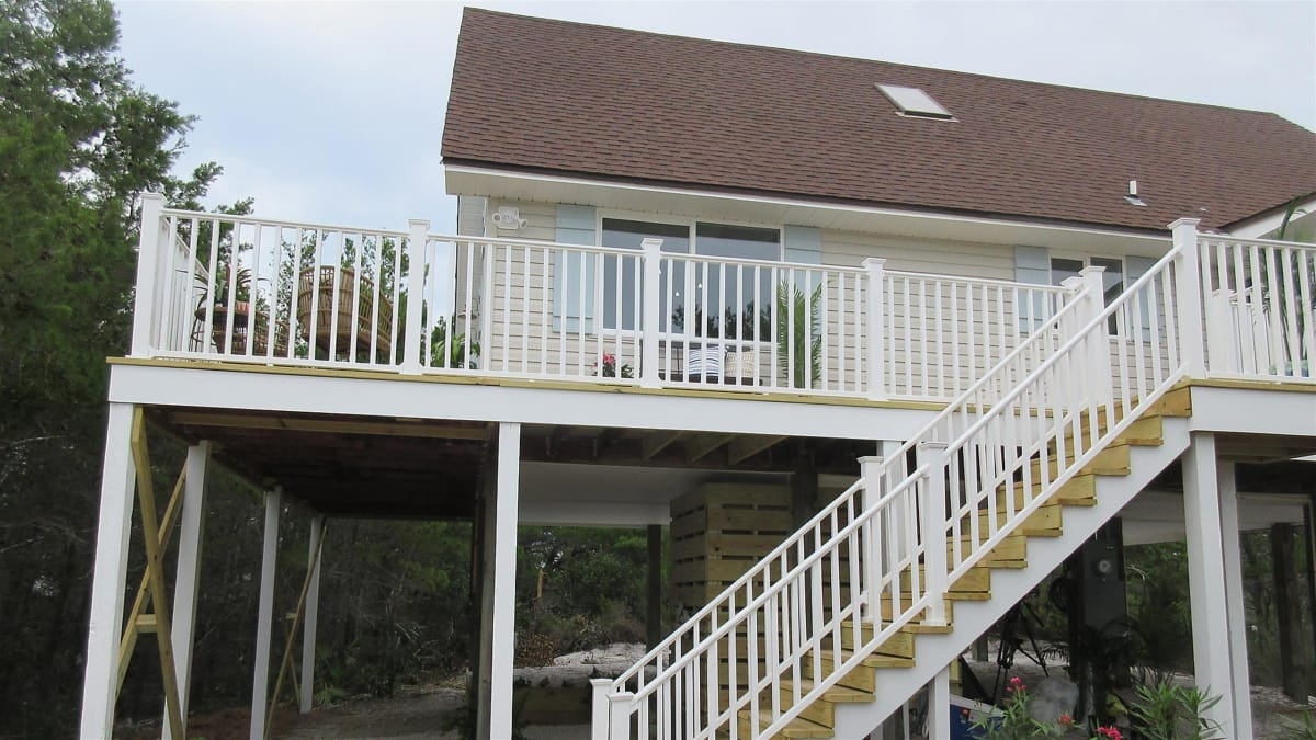 A couple hunts for a family beach retreat in Cape San Blas, FL.
