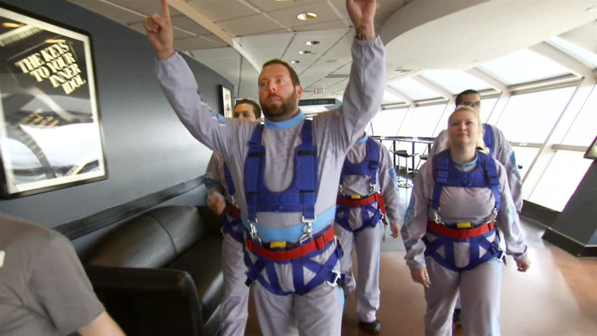 Bert experiences sky-high thrills at the Stratosphere in Las Vegas.