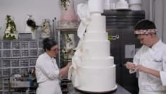 Seven-Foot Wedding Cake