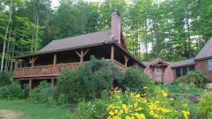 New Hampshire Log Cabin Hunt