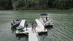 Fishing Around Watauga Lake
